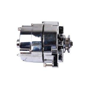 Aopec GM Street Alternators (85 Amp Chrome V-belt 1-wire 10si)