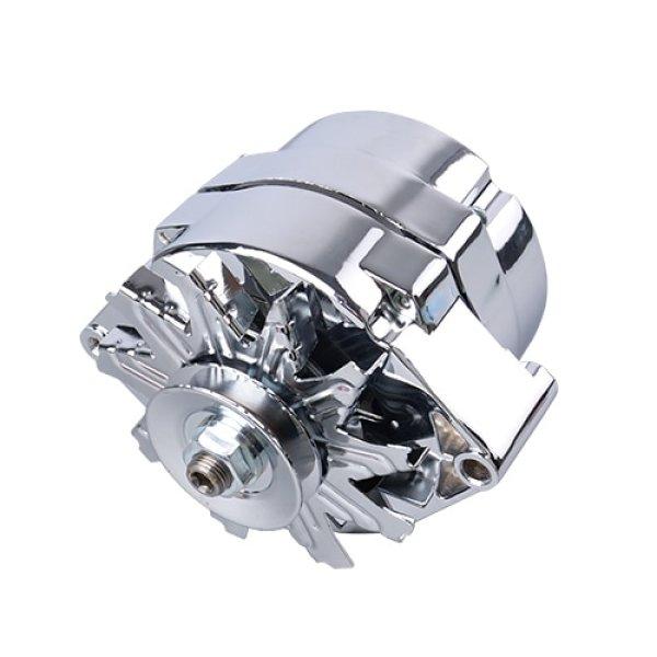 Aopec 100102 GM Street Alternators (100 Amp Natural V-Belt 1-wire 10si)