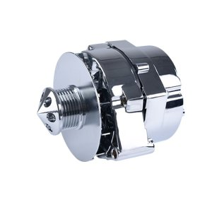 Aopec GM Street Alternators (100 Amp Chrome 6-rib 1-wire 12si)