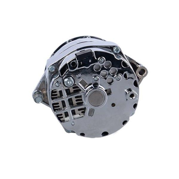 Aopec GM Street Alternators (100 Amp Chrome 6-rib 1-wire 12si)