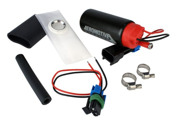 Aeromotive Stealth 340 Electric Fuel Pump Center Inlet #11541