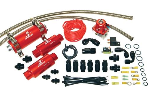 Aeromotive A750 EFI Fuel System- Black #17135