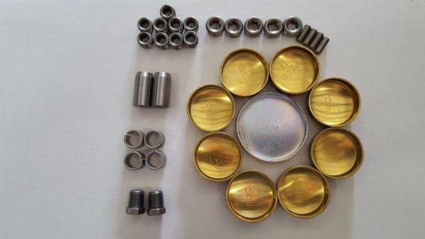 World Products 703891B-2K - Block Plug/Dowel kit Chevy Small Block Cast Iron Motown II Raised Cam