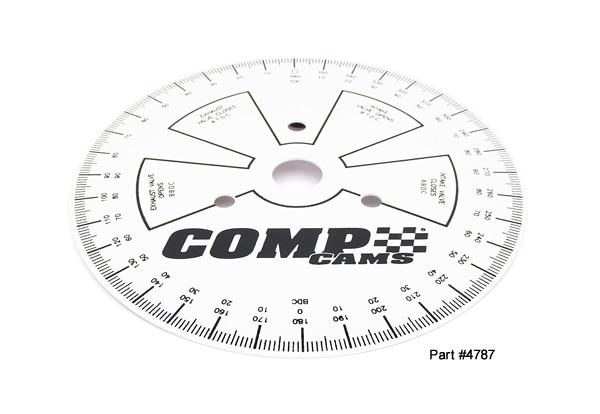 "Comp Cams 4790 Sportsman Degree Wheel; 9"""