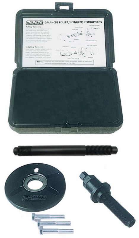Moroso #61745- Harmonic Balancer Installation and Removal Tool Kit, GM LS and LT