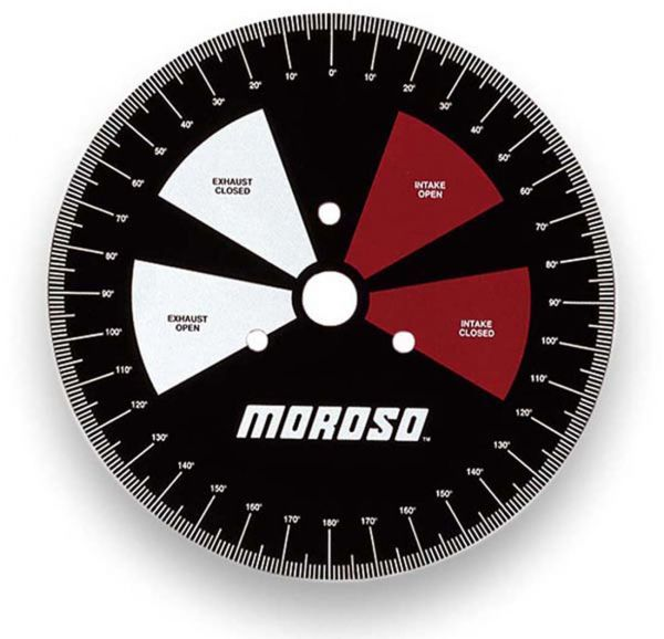 """Moroso #62190 11"""" Degree wheel, primarily for in-car use at the track"""