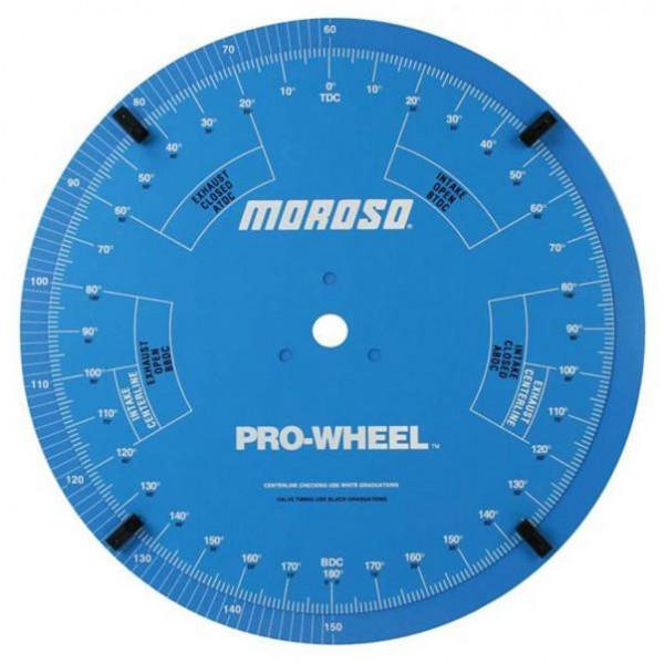 "Moroso #62192 18"" Dual Degree ""Pro Wheel"", for precise adjustments"