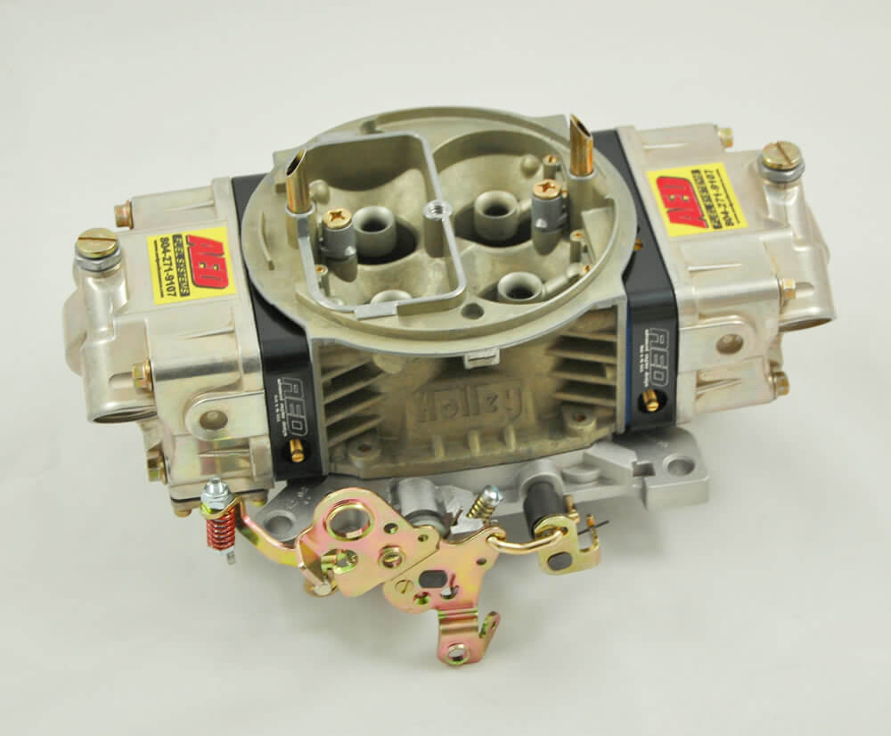 AED Performance - 650 HO Series Aluminum Carburetor, Gas, Std Booster, Billet Red Metering Blocks AL650HO-RD