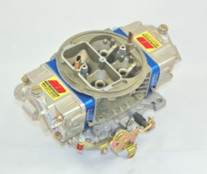 AED Performance - 750 HO Series Aluminum Carburetor, Alcohol, Std Booster, Billet Blue Metering Blocks AL750HO-A