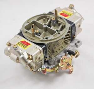 AED Performance - 750 HO Series Aluminum Carburetor, Gas, Std Booster, Billet Red Metering Blocks AL750HO-RD