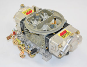 AED Performance - 850 HO Series Aluminum Carburetor, Gas, Std Booster, Billet Red Metering Blocks AL850HO-RD