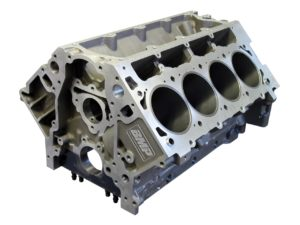 Bill Mitchell Products BMP 086525 - Aluminum Engine Block Chevy LS Block 9.800 Deck, 4.115 Bore, Billet Caps