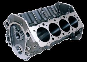 Dart 31273444 - Cast Iron Big M Sportsman Engine Block Chevy Big Block 9.800 Deck, 4.500 Bore, Ductile Caps