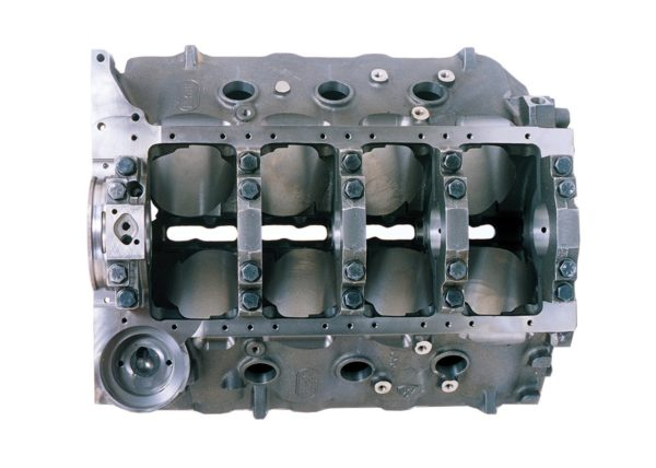 Dart 31273444 - Cast Iron Big M Sportsman Engine Block Chevy Big Block 9.800 Deck, 4.500 Bore, Ductile Caps