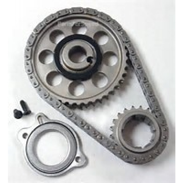 ROLLMASTER CS4000 - Timing Chain Ford Big Block 429/460 PRE/EFI Red Series Series with Shim & non-nitrided sprockets, 9 keyway crank sprocket
