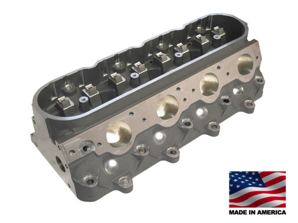 "Bill Mitchell Products BMP 025350C - Cylinder Heads Aluminum Chevy LS7 296cc 64cc 12Degree 2.080"" x 1.600"" CNC PORTED"