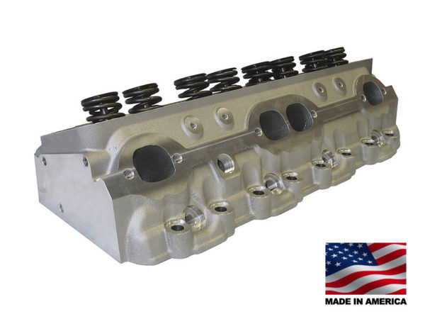 """Bill Mitchell Products BMP 024020 - Cylinder Heads Aluminum Chevy Small Block 235cc 64cc 23Degree 2.080"""" x 1.600"""""""