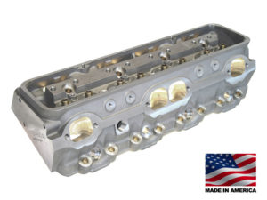 "Bill Mitchell Products BMP 024020C - Cylinder Heads Aluminum Chevy Small Block 255cc 64cc 23Degree 2.080"" x 1.600"" CNC PORTED"