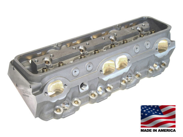 """Bill Mitchell Products BMP 024020C - Cylinder Heads Aluminum Chevy Small Block 255cc 64cc 23Degree 2.080"""" x 1.600"""" CNC PORTED"""