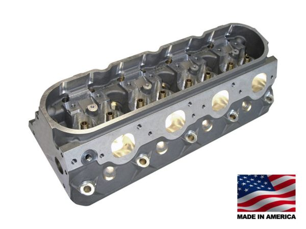 "Bill Mitchell Products BMP 025150C - Cylinder Heads Aluminum Chevy LS1 255cc 64cc 15Degree 2.080"" x 1.600"" CNC PORTED"