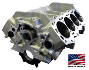 Bill Mitchell Products BMP 087510 - Aluminum Engine Block Ford Small Block 302 Mains, 8.200 Deck, 3.995 Bore, Billet Caps