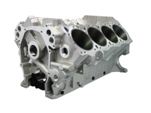 Bill Mitchell Products BMP 088555 - Aluminum Engine Block Wedge Block 10.720 Deck, 4.490 Bore, Billet Caps
