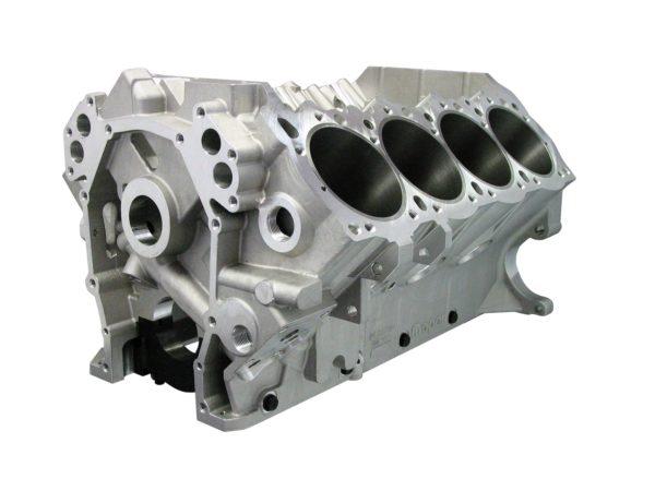 Bill Mitchell Products BMP 088555 - Aluminum Engine Block Wedge Block 10.720 Deck, 4.490 Bore, Billet Caps