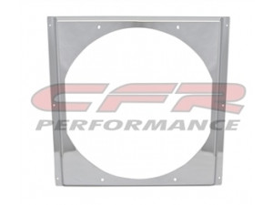 "CFR Performance Chrome Radiator Fan Shroud 16-5/8"" x 16-5/8"" x 14"" HZ-1008C-22"