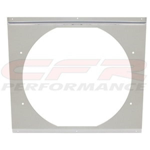 """CFR Performance Chrome Radiator Fan Shroud 18-5/8"""" x 16-5/8"""" x 14"""" HZ-1008C-24"""