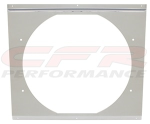 "CFR Performance Chrome Radiator Fan Shroud 18-5/8"" x 16-5/8"" x 14"" HZ-1008C-24"