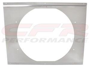"""CFR Performance Chrome Radiator Fan Shroud 20-5/8"""" x 16-5/8 x 14"""" HZ-1008C-26"""