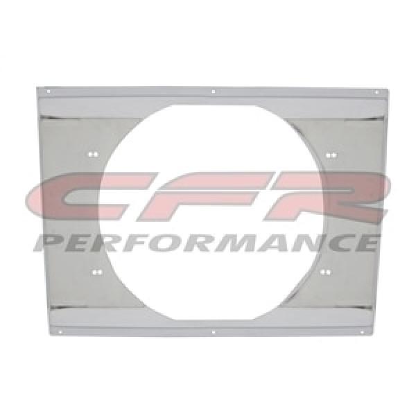 """CFR Performance Chrome Radiator Fan Shroud 22-5/8"""" x 16-5/8"""" x 14"""" HZ-1008C-28"""