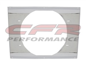 "CFR Performance Chrome Radiator Fan Shroud 22-5/8"" x 16-5/8"" x 14"" HZ-1008C-28"
