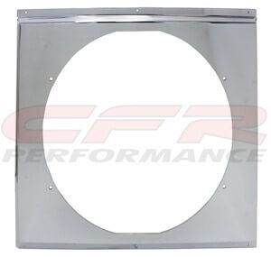 "CFR Performance Chrome Radiator Fan Shroud 20-5/8"" x 18-5/8"" HZ-1009C-26"