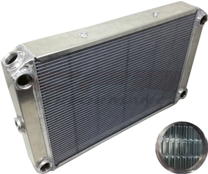 CFR Performance EMC=X2 Aluminum Radiator 26x19 HZ-40012-X2