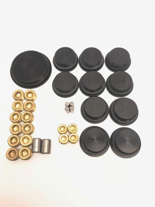 BMP 703897SBFAK - Block Plug/Dowel kit Ford Small Block BMP Aluminum