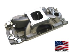 "Bill Mitchell Products BMP 063030 - Intake Manifold Chevy Big Block 9.800"" 4150 Carb Flange"