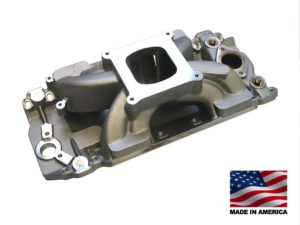 "Bill Mitchell Products BMP 063034 - Intake Manifold Chevy Big Block 9.800"" 4150 Carb Flange MARINE"