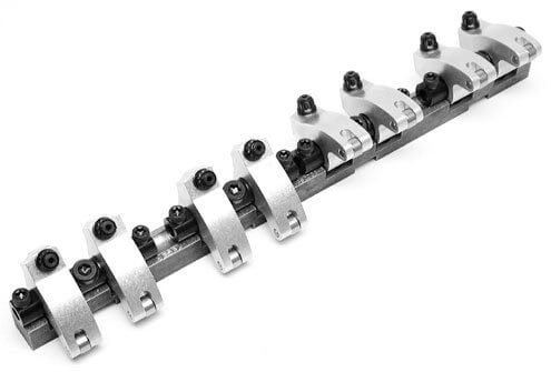 Jesel KPS47402 - Pro Series Shaft Mount Rocker System Chevy Small Block BMP Aluminum 23Degree Cylinder Heads