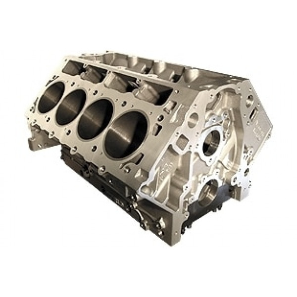 Bill Mitchell Products BMP 086505 - Aluminum Engine Block Chevy LS Block 9.240 Deck, 3.990 Bore, Billet Caps