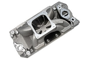 """Bill Mitchell Products BMP 063040 - Intake Manifold Chevy Big Block 9.800"""" 4500 Carb Flange"""