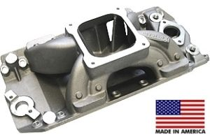 "Bill Mitchell Products BMP 063040 - Intake Manifold Chevy Big Block 9.800"" 4500 Carb Flange"