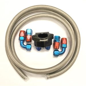 World Products 703850K - Motown LS Water Return Kit (Braided Hose)