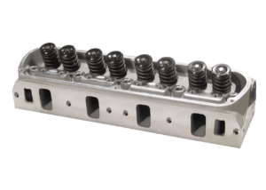 """Dart 13111182 Cylinder Heads Aluminum Small Block Ford Pro1 170cc 62cc 1.940"""" x 1.600"""", Assembly w/ 1.437"""" Dual Springs for Hydraulic Roller or Flat Tappet Cam"""