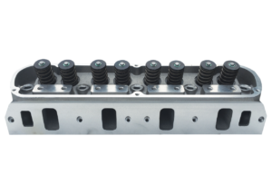 "Dart 13211113 Cylinder Heads Aluminum Small Block Ford Pro1 195cc 62cc 2.020"" x 1.600"", Assembly w/ 1.550"" Dual Springs for Solid Roller Cam"