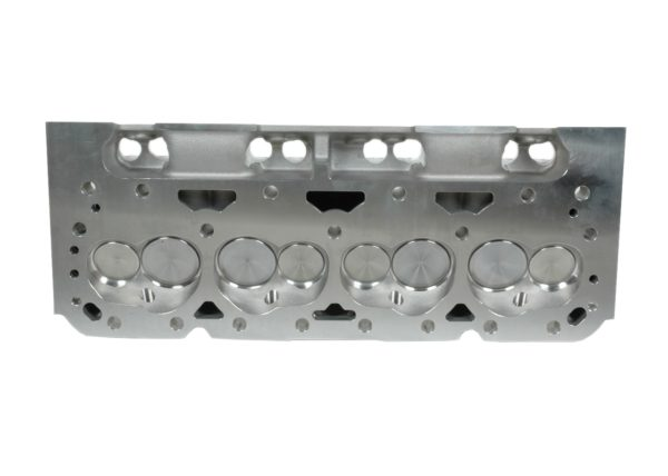 "Dart 11421111P Cylinder Heads Aluminum Small Block Chevy Pro1 200cc 72cc 2.020"" x 1.600"" Straight Plug, Assembly w/ 1.250"" Single Springs for Hydraulic Flat Lifters"