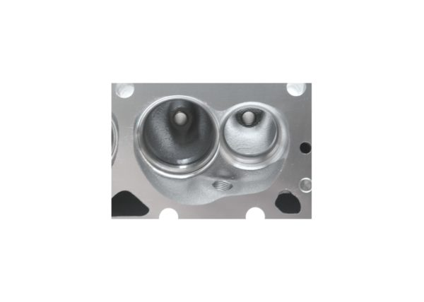 "Dart 11711143P Cylinder Heads Aluminum Small Block Chevy Pro1 230cc 64cc 2.080"" x 1.600"" Straight Plug, Assembly w/ 1.550"" Dual Springs for Roller Lifters"