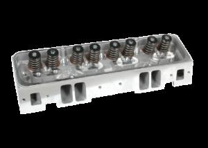 "Dart 11320010P Cylinder Heads Aluminum Small Block Chevy Pro1 200cc 64cc 2.020"" x 1.600"" Straight Plug, Bare Castings"