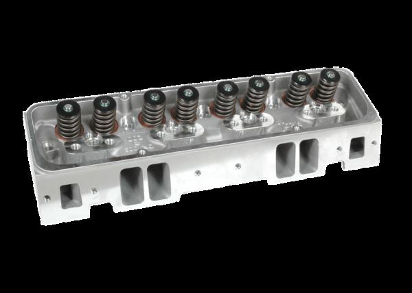 "Dart 11120010P Cylinder Heads Aluminum Small Block Chevy Pro1 180cc 64cc 2.020"" x 1.600"" Straight Plug,  Bare Casting"