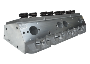 "Dart 11971142P Cylinder Heads Aluminum Small Block Chevy Pro1 227cc 66cc 2.080"" x 1.600"" Straight Plug, Assembly w/ 1.437"" Dual Springs for Hydraulic Roller or Flat Tappet Lifters CNC Ported"